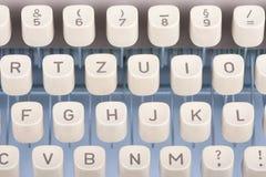 Old typewriting machine keys Stock Photography