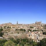 Toledo old historical city. Landscape. Spain. Stock Photos