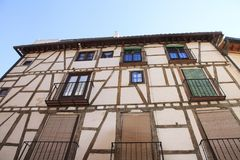 Toledo old house. Spain architecture style. Royalty Free Stock Image