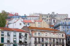 Old typical buildings in Lisboa, Portugal Royalty Free Stock Image