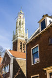 Old typical Dutch houses Stock Photography
