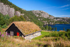 Old typical house in Norway Stock Photos