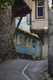 Old typical Street view. Street view of old Anatolian city Royalty Free Stock Image