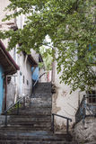 Old typical Street view. Street view of old Anatolian city Royalty Free Stock Photography