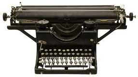 Old Typing Machine Royalty Free Stock Photography