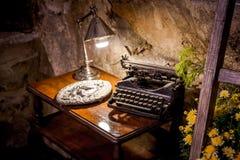 Old typing machine Royalty Free Stock Photos