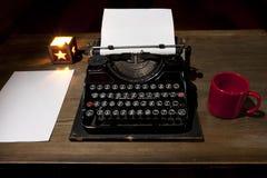Old typwriter royalty free stock photography