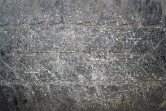 Old tyre abstract scratched surface. Backdrop  from  abandoned car Royalty Free Stock Photography