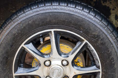 Old Tyre Royalty Free Stock Photos