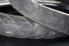 Old tyre Royalty Free Stock Photo
