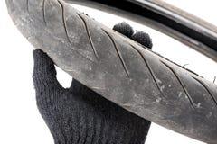 Old tyre Stock Photos