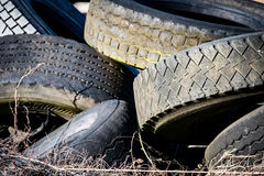 Old tyres Royalty Free Stock Photography