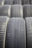 Old tyres Royalty Free Stock Photos