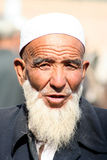An old Uighur man Stock Image