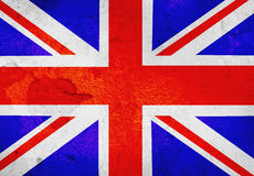 Old UK flag Royalty Free Stock Image
