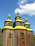Old Ukrainian church Stock Photography