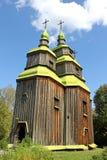 Old Ukrainian church, Ukraine Stock Photography