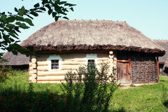 Old ukrainian house, Pirogovo; Kiev, Ukraine Royalty Free Stock Images