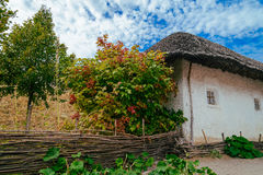 Old ukrainian house Royalty Free Stock Photos