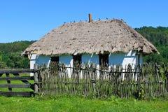 Old ukrainian rural house Stock Photos