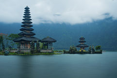 Old Ulun Danu Temple Royalty Free Stock Photo