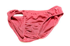 The old underpants. On white background Royalty Free Stock Images