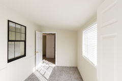 Old Unfurnished Room Stock Photo