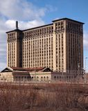 Abandoned Train Station. Old Union station closed in Detroit Royalty Free Stock Photography