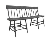 Free Old Unique Dark Wood Bench Isolated. Royalty Free Stock Photo - 25603115