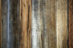 Old unique faded gray wood background. Unique black and gray wood weathered background with copy space Royalty Free Stock Photos
