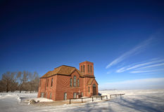 Old United Church. Near Regina Saskatchewan Canada Stock Photo
