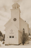 Old United Church Stock Photo