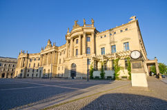 Old University building in Berlin, Germany Stock Photography