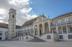 Old university of Coimbra, Portugal Royalty Free Stock Images