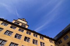 Old university, Wuerzburg, Bavaria Stock Photography