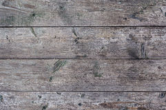 Old unpainted wooden boards background Royalty Free Stock Photography