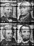Old US dollar Stock Images