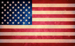 Old US flag Royalty Free Stock Photo