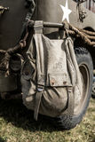 Old US military bag Royalty Free Stock Images