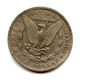 Old usa coin Stock Image