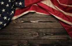 Old USA flag stock photos