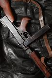 Old USA Submachine Gun Stock Photo