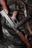 Old USA Submachine Gun Stock Photo