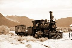 Old USA train stock images