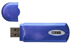 Old USB flash memory Royalty Free Stock Images