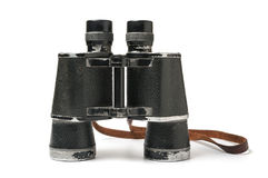 Old used binoculars Stock Images
