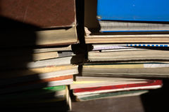 Old used books. The books, all the stories of the world Royalty Free Stock Images
