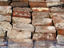 A Old Used Bricks Royalty Free Stock Photos