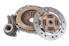 Old clutch kit Royalty Free Stock Photo