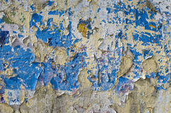 Old used cracked wall background Royalty Free Stock Image